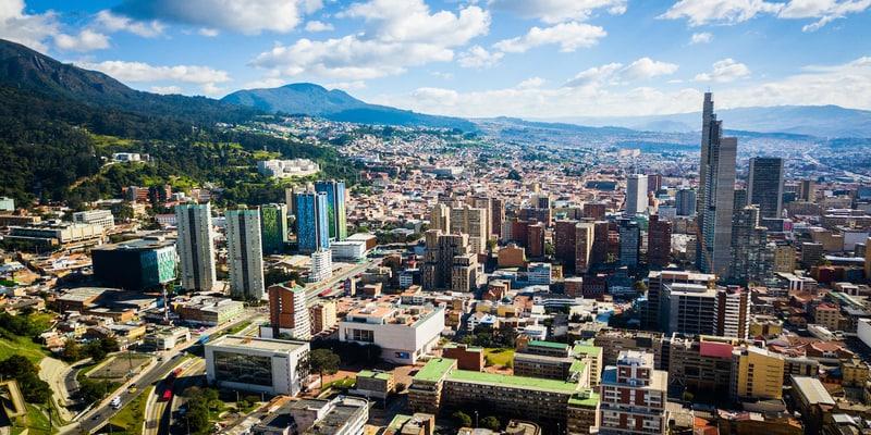 Bogota desde Monserrate