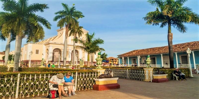 Iglesia Parroquial de la Santisima Trinidad Cuba trinidad