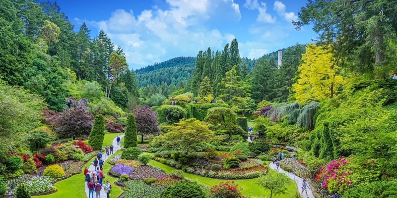 jardines butchart victoria canada