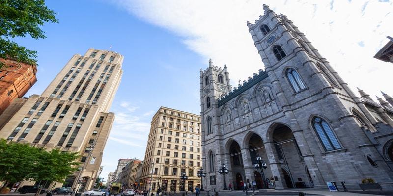 Montreal, Canadá Basílica de Notre-Dame de Montreal