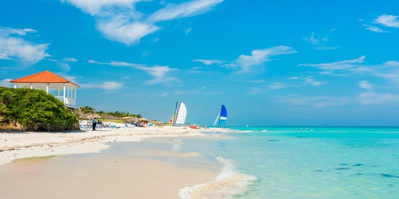 Playa cristalina Varadero